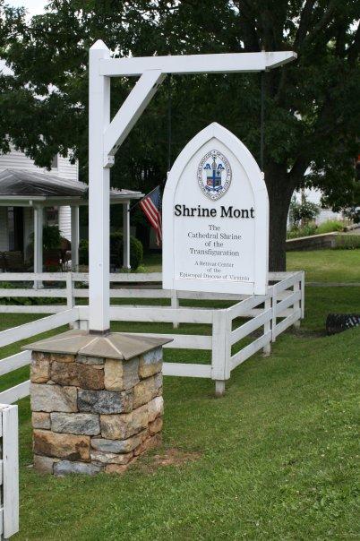 Shrine Mont Sign