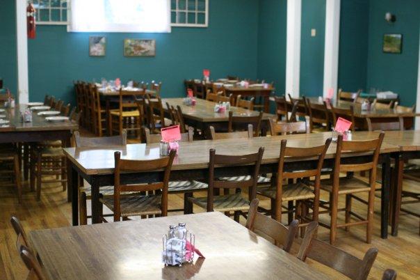 Shrine Mont Dining Room
